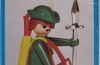 Playmobil - 3337-fam - Green Archer