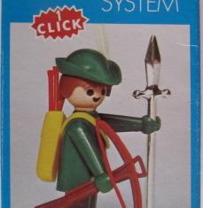 Playmobil - 3337-fam - Green Archer