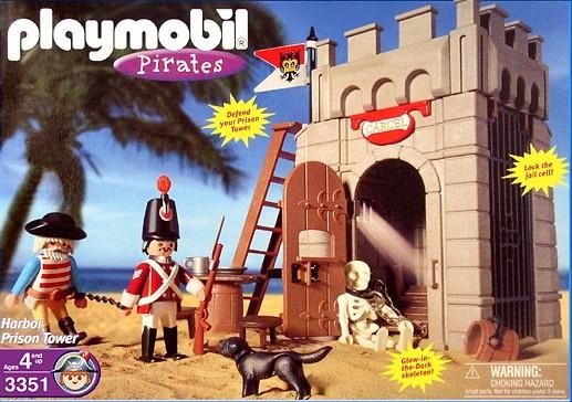 Playmobil 3351-usa - harbor prison tower - Box