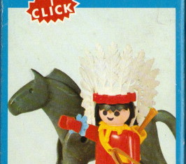 Playmobil - 3351v1-fam - Jefe Indio