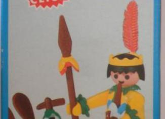 Playmobil - 3352-fam - Indian / Canoe