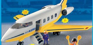 Playmobil - 3352s2 - Jumbo Jet airplane