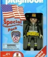 Playmobil - 3354-usa - F.D.N.Y. Fire Fighter