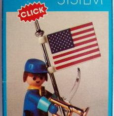 Playmobil - 3354v1-fam - US soldier & flag
