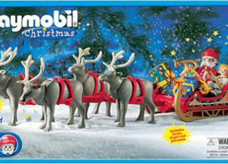 Playmobil - 3366-usa - Santa's Magic Sleigh