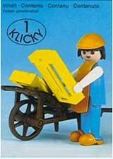Playmobil 3369 - Farmer with wheelbarrow - Box
