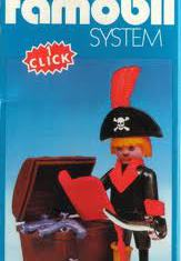 Playmobil - 3385-fam - pirate / treasure chest
