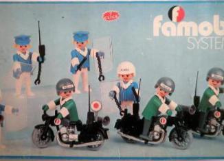 Playmobil - 3401-fam - 7 Policias