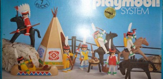 Playmobil - 3406-ant - 7 klicky indians set