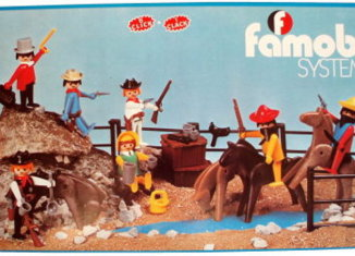 Playmobil - 3407-fam - 7 Cowboys