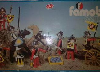 Playmobil - 3409-fam - 1 Knight and 6 soldiers