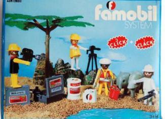 Playmobil - 3414-fam - Exploradores Safari