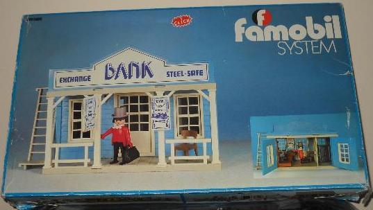 Playmobil - 3422-fam - Bank