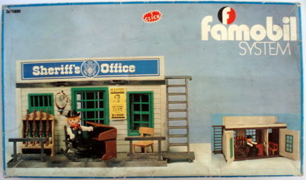 Playmobil 3423 Fam Sheriff S Office