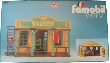 Western Playmobil shelf for saloon 3425