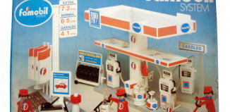Playmobil - 3439-fam - Fuel Station (Famobil)