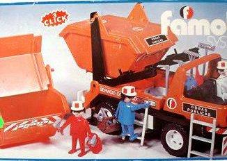 Playmobil - 3471-fam - Camion Contenedores