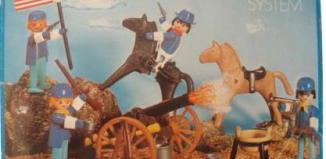 Playmobil - 3485-fam - U.S. Cavalry