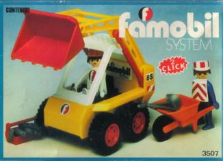 Playmobil - 3507-fam - Retroexcavadora
