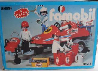 Playmobil - 3538-fam - Lancha Competicion