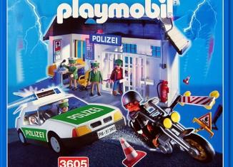Playmobil - 3605-ger - Adventure polizei