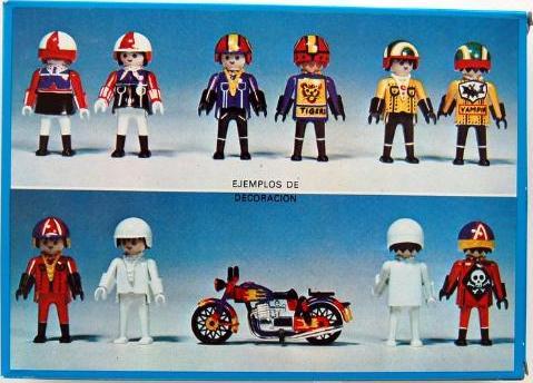 Playmobil 3616-fam - Bikers - Back