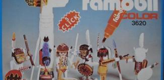 Playmobil - 3620-fam - Indians / Totem Pole