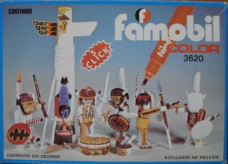 Playmobil - 3620-fam - Indians / Totem Pole