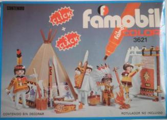 Playmobil - 3621-fam - Indians Tipy