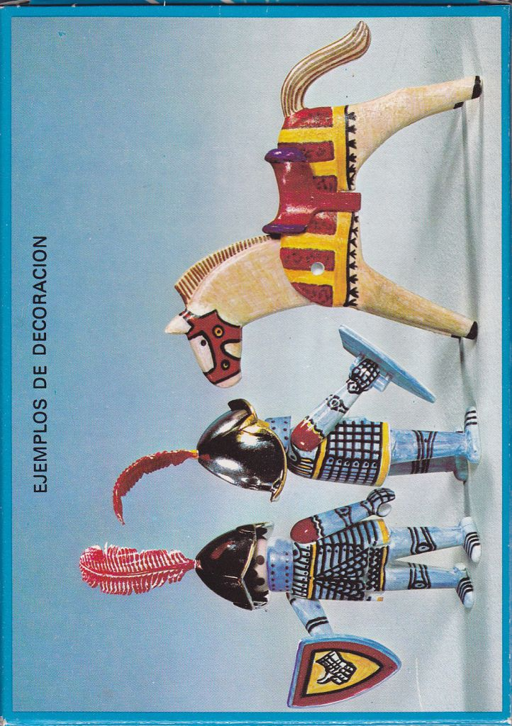 Playmobil 3661-fam - Color Medieval Knights - Back