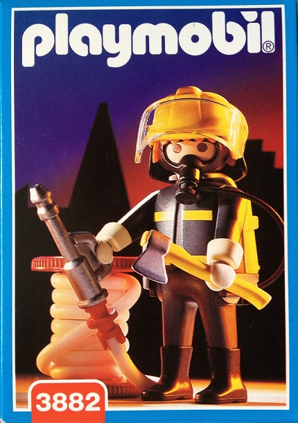 Playmobil 3882 - Fireman - Box