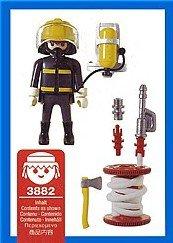 Playmobil 3882 - Fireman - Back