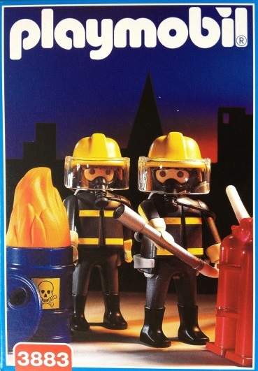 Playmobil 3883 - Firefighters - Box