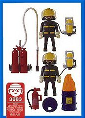 Playmobil 3883 - Firefighters - Back