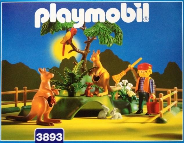 Playmobil 3893 - Cuidador de canguros - Caja