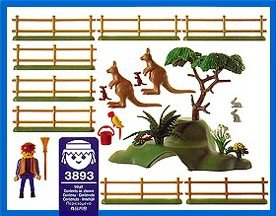 Playmobil 3893 - Cuidador de canguros - Volver
