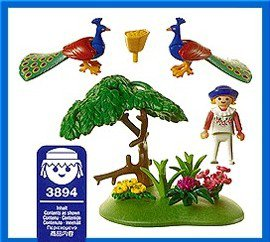 Playmobil 3894 - Peacock's Meadow - Back