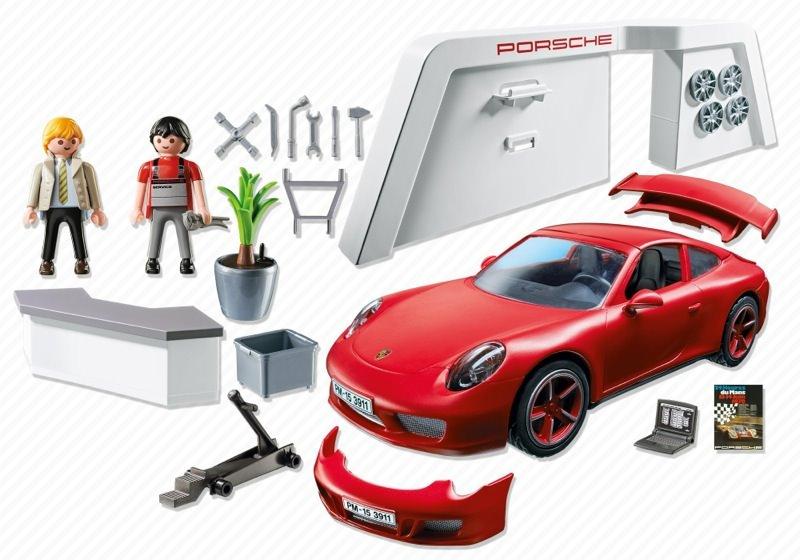 Playmobil 3911 - Porsche 911 Carrera S - Back