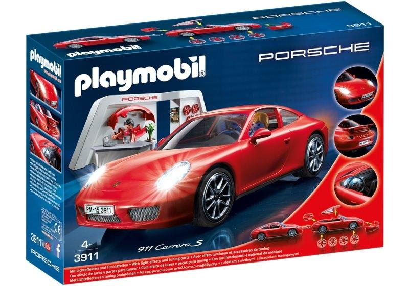 Playmobil 3911 - Porsche 911 Carrera S - Box