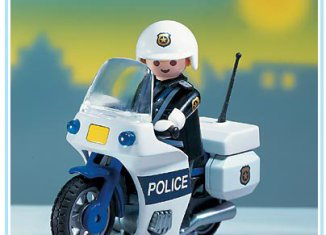 Playmobil - 3915-usa - Police Motorcycle