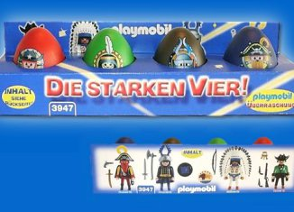Playmobil - 3947 - The Strong Four