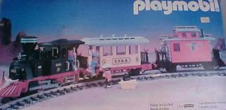 Playmobil - 3958 - Small Western Train Set