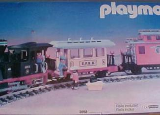 Playmobil - 3958 - Small Western Train Set