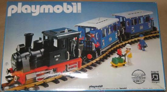 Playmobil set 4000 fam train klickypedia - Train playmobil ...