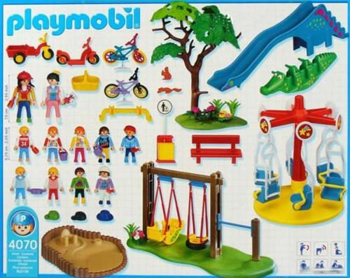 Playmobil 4070 - Parque infantil - Volver
