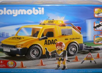 Playmobil - 4071 - ADAC Vehicle