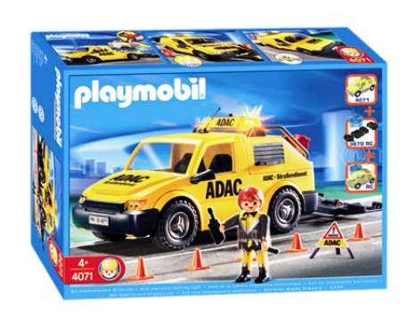 Playmobil 4071 - ADAC Vehicle - Box