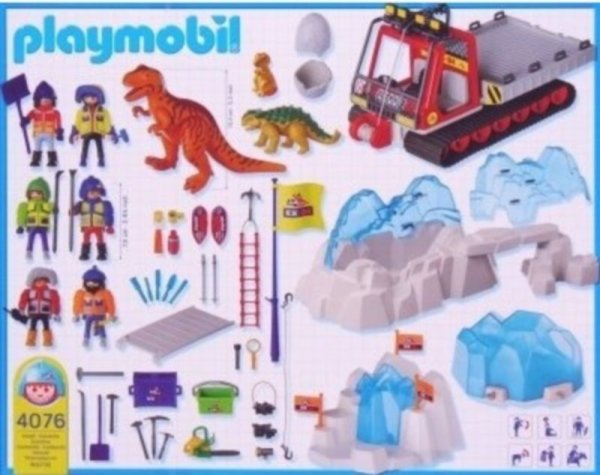 Playmobil 4076-ger - Dinosaur Combo Set - Back