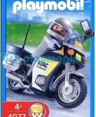 Playmobil - 4077 - ADAC Motorcycle