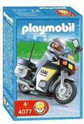 Playmobil 4077 - ADAC Motorcycle - Box